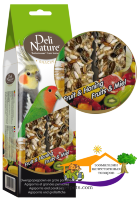 Deli Nature Snack  AGAPORNIS AND PARAKEETS – FRUIT AND HONEY